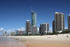 Παράδεισος Surfers στοκ φωτογραφία με δικαίωμα ελεύθερης χρήσης