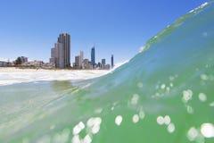 Παράδεισος Surfers, Queensland, Αυστραλία στοκ εικόνα με δικαίωμα ελεύθερης χρήσης
