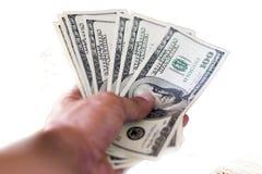 Παράδοση των χρημάτων στοκ εικόνες