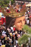 παρέλαση εορτασμού του Κεμπού sinulog Στοκ εικόνα με δικαίωμα ελεύθερης χρήσης