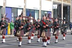 Παρέλαση ημέρας Αγίου Πάτρικ ` s, Οττάβα, Καναδάς Στοκ φωτογραφίες με δικαίωμα ελεύθερης χρήσης