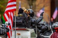 Παρέλαση 2017 ημέρας παλαιμάχων Στοκ Φωτογραφίες