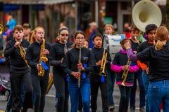 Παρέλαση 2017 ημέρας παλαιμάχων Στοκ εικόνα με δικαίωμα ελεύθερης χρήσης