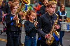 Παρέλαση 2017 ημέρας παλαιμάχων Στοκ Εικόνες