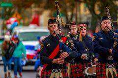 Παρέλαση 2017 ημέρας παλαιμάχων Στοκ Φωτογραφία
