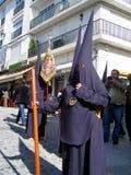 παρέλαση Ισπανία Πάσχας ε&omicr Στοκ εικόνες με δικαίωμα ελεύθερης χρήσης