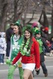 παρέλαση Πάτρικ s Άγιος της &Om Στοκ φωτογραφία με δικαίωμα ελεύθερης χρήσης