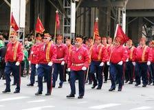 παρέλαση Πάτρικ s ST ημέρας Στοκ φωτογραφία με δικαίωμα ελεύθερης χρήσης