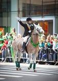 παρέλαση Πάτρικ s ST ημέρας Στοκ εικόνα με δικαίωμα ελεύθερης χρήσης