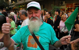 παρέλαση Πάτρικ ST ημέρας Στοκ φωτογραφίες με δικαίωμα ελεύθερης χρήσης