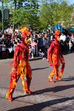 παρέλαση Παρίσι Disneyland Στοκ Εικόνες