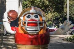 Παρέλαση Πόλη του Μεξικού 2017 σφαιρών NFL στοκ φωτογραφίες