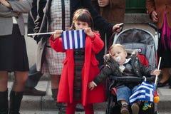 παρέλαση της Ελλάδας Στοκ φωτογραφίες με δικαίωμα ελεύθερης χρήσης