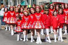 παρέλαση το patric s ST ημέρας Στοκ Φωτογραφία