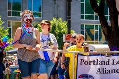 Παρέλαση 2019 υπερηφάνειας του Πόρτλαντ στοκ φωτογραφία με δικαίωμα ελεύθερης χρήσης