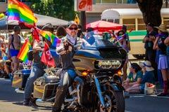 Παρέλαση 2019 υπερηφάνειας του Πόρτλαντ στοκ φωτογραφίες με δικαίωμα ελεύθερης χρήσης