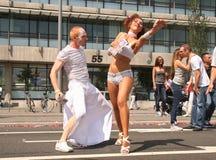 παρέλαση χορού Στοκ φωτογραφία με δικαίωμα ελεύθερης χρήσης