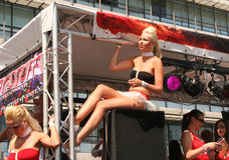 παρέλαση χορού Στοκ εικόνες με δικαίωμα ελεύθερης χρήσης