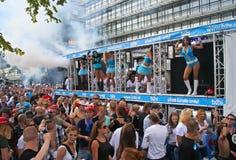 παρέλαση χορού Στοκ Εικόνα