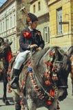 Παρέλαση Brasovului Junii, Brasov, Ρουμανία Στοκ Φωτογραφία