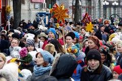 Παρέλαση Nativity Verteps Στοκ Φωτογραφίες