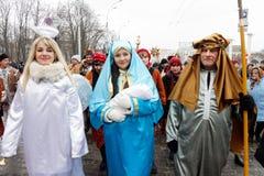 Παρέλαση Nativity Verteps Στοκ Εικόνες