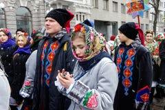 Παρέλαση Nativity Verteps Στοκ Φωτογραφία