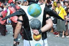 Παρέλαση Zinneke στις Βρυξέλλες Στοκ Εικόνες