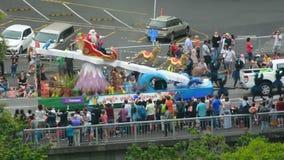Παρέλαση Άγιου Βασίλη στο Ώκλαντ Νέα Ζηλανδία φιλμ μικρού μήκους