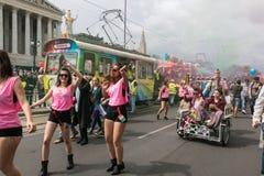 Παρέλαση Βιέννη ουράνιων τόξων Στοκ Φωτογραφίες