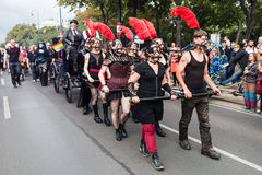 Παρέλαση Βιέννη ουράνιων τόξων Στοκ φωτογραφία με δικαίωμα ελεύθερης χρήσης