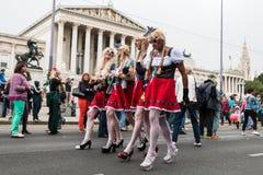 Παρέλαση Βιέννη ουράνιων τόξων Στοκ Εικόνες
