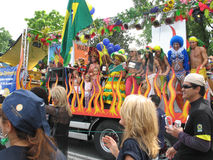 Παρέλαση Γενεύη λιμνών αγάπης Στοκ Εικόνες