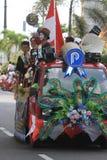 Παρέλαση επιπλεόντων σωμάτων στοκ εικόνες