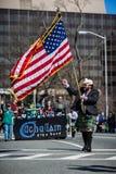 Παρέλαση ημέρας Αγίου Πάτρικ στοκ εικόνες με δικαίωμα ελεύθερης χρήσης