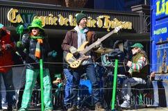 Παρέλαση ημέρας Αγίου Πάτρικ Στοκ Εικόνα