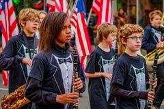 Παρέλαση 2016 ημέρας παλαιμάχων Στοκ Εικόνα