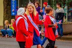 Παρέλαση 2016 ημέρας παλαιμάχων Στοκ φωτογραφία με δικαίωμα ελεύθερης χρήσης