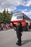 Παρέλαση ημέρας του Καναδά σε Banff Στοκ εικόνα με δικαίωμα ελεύθερης χρήσης
