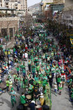 Παρέλαση ημέρας του ST Patricks Στοκ Φωτογραφία