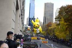 Παρέλαση 2016 ημέρας των ευχαριστιών - πόλη της Νέας Υόρκης Στοκ Φωτογραφία