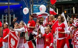 Παρέλαση ημέρας Pulaski Στοκ εικόνα με δικαίωμα ελεύθερης χρήσης