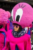 Παρέλαση καρναβαλιού με το κοστούμι χταποδιών Στοκ Εικόνες
