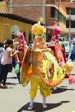 Παρέλαση καρναβαλιού σε Banos, Ισημερινός Στοκ φωτογραφία με δικαίωμα ελεύθερης χρήσης