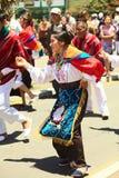 Παρέλαση καρναβαλιού σε Banos, Ισημερινός Στοκ Φωτογραφίες