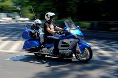 Παρέλαση μοτοσικλετών σε Wroclaw, Πολωνία Στοκ Εικόνα
