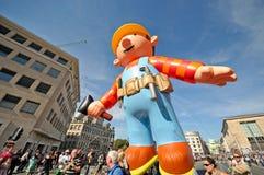 Παρέλαση μπαλονιών Στοκ Εικόνες