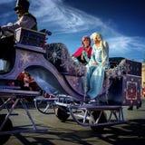 Παρέλαση παγκόσμιων Χριστουγέννων της Disney Στοκ φωτογραφίες με δικαίωμα ελεύθερης χρήσης