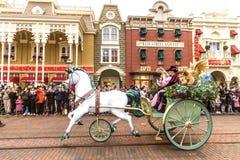 παρέλαση Παρίσι Disneyland Στοκ φωτογραφία με δικαίωμα ελεύθερης χρήσης