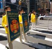 Παρέλαση στην πόλη της Νέας Υόρκης, NYC, Νέα Υόρκη, ΗΠΑ Στοκ φωτογραφία με δικαίωμα ελεύθερης χρήσης